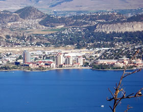 Kelowna viewed from the Westside. Photo ©Crowesnest Ventures