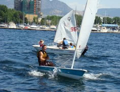 Sailing on Okanagan Lake