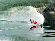Waterskiing circa 1970's